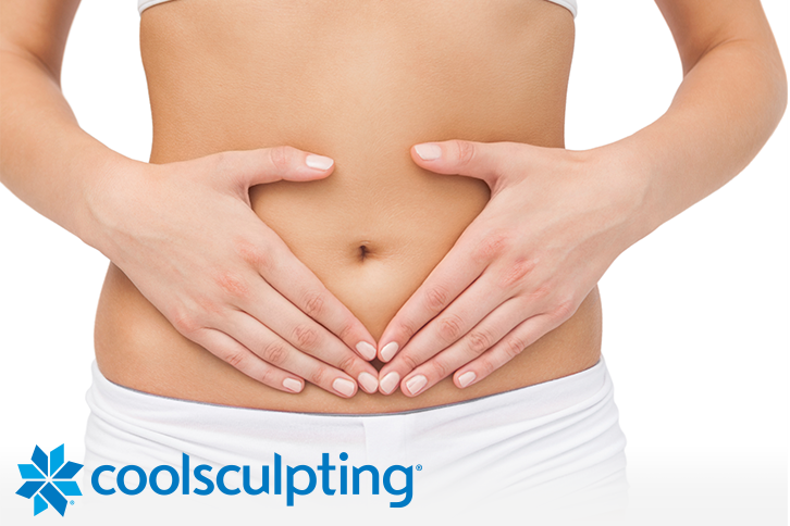 Coolsculpting Model Tummy